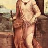 GIORGIONE (eigentl. GIORGIO [ZORZO] DA CASTELFRANCO, 1478–1510): Judith, um 1505, Holz,144 x 66,5 cm, St. Petersburg, Eremitage.