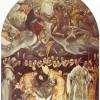EL GRECO: Begräbnis des Grafen von Orgaz, um 1586, Öl auf Leinwand, 480 x 360 cm, Toledo, San Tomé.