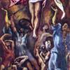 EL GRECO: Auferstehung Christi, 1584–1594, Öl auf Leinwand, 275 x 127 cm, Madrid, Museo del Prado.