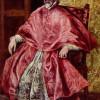 EL GRECO: Porträt des Kardinalinquisitors Don Fernando Niño de Guevara, 1596–1601, Öl auf Leinwand,171 x 108 cm, New York, Metropolitan Museum of Art.
