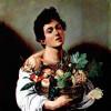 """MICHELANGELO CARAVAGGIO: """"Knabe mit Fruchtkorb"""";1593–1594, Öl auf Leinwand, 70 × 67cm;Rom, Galleria Borghese."""