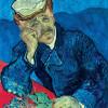 """VINCENT WILLEM VAN GOGH: """"Porträt des Dr. Gachet"""";1890, Öl auf Leinwand, 68 × 57 cm;Paris, Musée d'Orsay."""