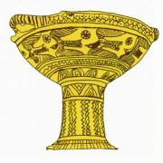 Schale, Athen;attisch geometrisch, 8. Jh. v.Chr.