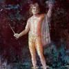 Pompejanischer Maler des 1.Jahrhunderts: Perseus;1.Jh., Wandmalerei; Castellamare di Stabia, Antiquarium.