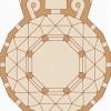 Grundriss der Aachener Pfalzkapelle