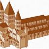 """Die Kirche des Klosters Cluny trug die Beinamen """"Zentrum der Welt"""" bzw. """"das zweite Rom"""", denn sie war einst die größte Kirche der Christenheit, bis die Kathedrale von St. Peter in Rom gebaut wurde. Das Kloster wurde während der französischen Revolution z"""