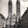 Die Kathedrale von Caen in Frankreich