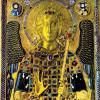Meister der Ikone des Erzengels Michael: Erzengel Michael;10. Jh., Farben in Emaille;Venedig, San Marco.