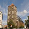 Im Kirchendach von St. Nikolai sind heute Wohnungen für Kirchenmitarbeiter untergebracht.