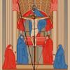 """Schema der Zentralperspektive in MASACCIOs Fresko """"Trinität"""""""