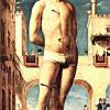 "ANTONELLO DA MESSINA: ""Heiliger Sebastian"";1476, Öl auf Holz, 171 × 85 cm;Dresden, Gemäldegalerie."