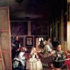 """DIEGO VELÁZQUEZ: """"Las Meninas""""(Selbstporträt mit der königlichen Familie);1656–1657, Öl auf Leinwand, 318 × 276 cm;Madrid, Museo del Prado"""