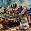 """PETER PAUL RUBENS: """"Amazonenschlacht"""";um 1619, Öl auf Holz, 121 × 165 cm;München, Alte Pinakothek"""