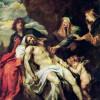 "ANTHONIS VAN DYCK: ""Die Beweinung Christi"";1. Drittel des 17. Jh.s, Holz;Berlin, Gemäldegalerie"