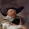 FRANS HALS: Porträt eines sitzenden Offiziers mit aufgestütztem Arm;1637, Öl auf Leinwand, 88 × 66 cm;São Paolo (Brasilien), Museu de Arte