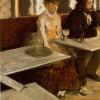 """EDGAR DEGAS """"L'absinthe"""", 1876"""