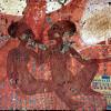 Ägyptischer Maler um 1360 v.Chr.: Wandmalerei aus El-Amarana, Szene: Zwei Töchter des Amenophis IV.;um 1375–1358 v.Chr., Wandbild, 30 × 41 cm;Oxford, Ashmolean Museum.