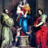 """ANDREA DEL SARTO: """"Harpyienmadonna"""";1517, Holz, 207 × 178 cm;Florenz, Galleria degli Uffizi."""