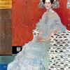 """GUSTAV KLIMT: """"Porträt der Fritza Riedler"""";1906; Wien, Österreichische Galerie."""