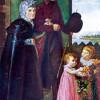 PHILIP OTTO RUNGE: Die Eltern des Künstlers;1806; Hamburg, Kunsthalle.