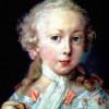 """ROSALBA CARRIERA: """"Porträt eines Knaben der Familie Leblond"""";um 1740, Karton, 34 × 27 cm;Venedig, Gallerie dell'Accademia."""