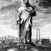 Heiliger Bruno, Entwurf: WENZEL HOLLAR, Ausführung: WENZEL HOLLAR, 1649,Radierung und Kupferstich, 245 x 180 mm, Köln, Sammlung Günther Leisten
