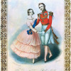 Die Queen- und Prince Albert-Polka, JOHN BRANDARD, um 1840, Farblithographie, 345 x 257 mm, London, Victoria and Albert Museum