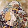 "GUSTAV KLIMT: ""Baby"";1917–1918, Öl auf Leinwand, 110 x 110 cm;New York, Privatsammlung."
