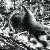 UMBERTO BOCCIONI: Die Stadt erhebt sich,1910, Schwarze Kreide auf weißem Papier, 587 × 867 mm, New York, Museum of Modern Art