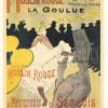 Ein Plakat von TOULOUSE-LAUTREC
