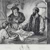Gedenkblatt an die Erfindung der Buchdruckerkunst von Adolf Friedrich Erdmann von Menzel