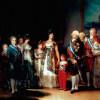 FRANCISCO DE GOYA Y LUCIENTES: Porträt der Familie Karls IV.;1800–1801, Öl auf Leinwand, 280 × 336 cm;Madrid, Museo del Prado.