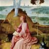 """HIERONYMUS BOSCH: """"Hl. Johannes der Evangelist auf Patmos"""" (1504 –1505)"""
