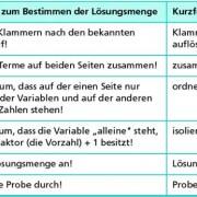 Gleichungen, Lösen in Mathematik | Schülerlexikon | Lernhelfer
