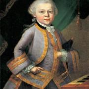 WOLFGANG AMADEUS MOZART (1756–1791) im Alter von 6Jahren