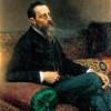 NIKOLAI RIMSKI-KORSAKOW (1844–1908) – Gemälde von ILJA REPIN