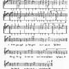 Transkriptionsbeispiel Chokela-Tanz: 12 Kerbflötenspieler, begleitet von einer mit einem Schlägel geschlagenen Trommel (caja)