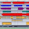 Hauptfenster einer Recording-Software (grafische Darstellung des Beispieltitels zu diesem Artikel)