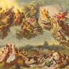 """""""Die Hunnenschlacht"""" (1834–1837) von WILHELM VON KAULBACH (1804–1874)"""