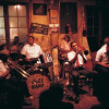 Auftritt einer Jazz Band in der Preservations Hall in New Orleans (Louisiana, USA), dem Mekka des traditionellen Jazz