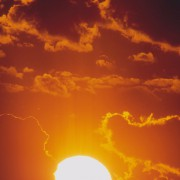 Die Sonne - unsere wichtigste Quelle für Wärmestrahlung