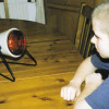 Infrarotlampen werden für Heilzwecke genutzt.