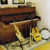 Mit Musikinstrumenten erzeugt man Schall.