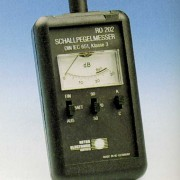 Schallpegelmesser mit einem Messbereich von 50 dB bis 120 dB