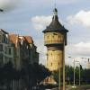 Wasserturm in Halle (Saale) zur örtlichen Wasserversorgung