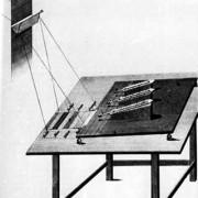 Versuch von F. W. HERSCHEL zum Nachweis der Wärmestrahlung