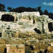 Grab des Archimedes in Syrakus (Sizilien)