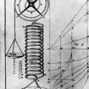 Seite aus einem Buch von Hooke