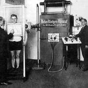 Röntgenuntersuchung im Jahre 1912