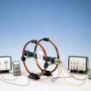 Versuchsanordnung zur Bestimmung der spezifischen Ladung von Elektronen